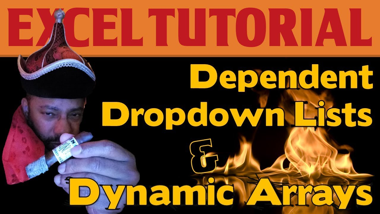 Dependent Dropdown Lists in Excel with Power Query & Dynamic
